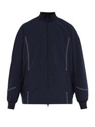 Y 3 Lux Topstitched Track Jacket Navy