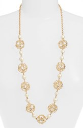 Kate Spade Women's New York Brilliant Bauble Station Necklace