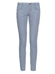 Stella Mccartney Multi Stripe Skinny Leg Cropped Jeans