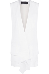 Haider Ackermann Tiered Linen Blend Vest
