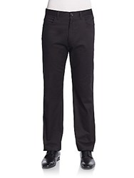 Perry Ellis Cotton Twill Pants Black