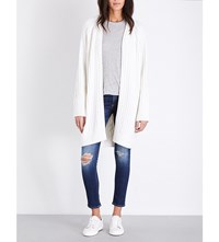 Rag And Bone Kiera Knitted Cardigan Ivory