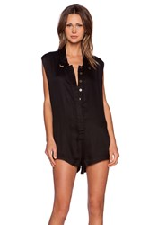 One Teaspoon Valentine Jumpsuit Black