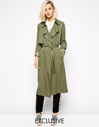 Goldie Duster Coat Khaki