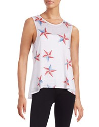 Chaser Patriotic Star Tank Top