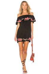Beach Riot Alana Dress Black
