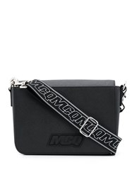 Mcq By Alexander Mcqueen Logo Crossbody Bag Black