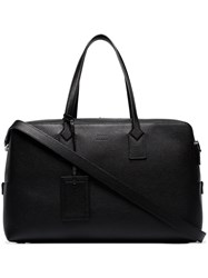 Hugo Boss Black Gallery Leather Holdall Bag 60