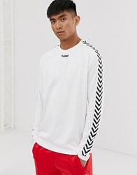 Hummel Long Sleeve T White