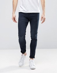 Dr. Denim Dr Snap Skinny Jeans Dark Retro Blue