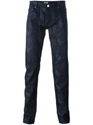 Kenzo 'Hairs' Jeans Blue