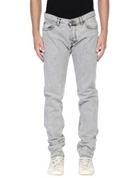Tru Trussardi Denim Denim Trousers Men Grey