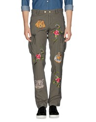 History Repeats Casual Pants Military Green