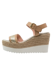 Kanna High Heeled Sandals Naturale Platinum Camel