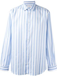 Joseph 'Mixed Stripes Colworth' Shirt Blue