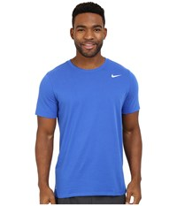 Nike Dri Fit Version 2.0 T Shirt Game Royal Game Royal White Men's T Shirt Blue