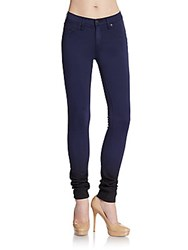 Rag And Bone The Legging Ombr Skinny Jeans Navy Ombre