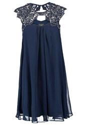 Lipsy Cocktail Dress Party Dress Navy Dark Blue