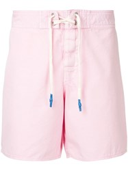 The Upside Lace Up Shorts Pink And Purple