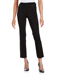 Nydj Petite Cropped Dress Pants Black