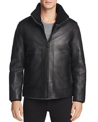 Andrew Marc New York Trailblazer Leather Jacket Black