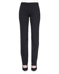 Helmut Lang Deta Straight Leg Dress Pants Black