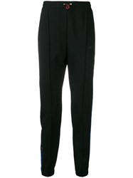 Unravel Project Side Stripe Track Pants Black
