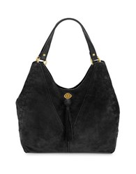Nanette Lepore Santana Leather Tote Black