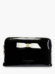 a7ee1752b4cf4 Ted Baker Cahira Bow Makeup Bag Black