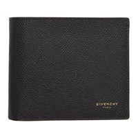 Givenchy Black Bifold Wallet 001 Blk