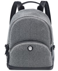 Nine West Fabric Taren Small Backpack Gunmetal