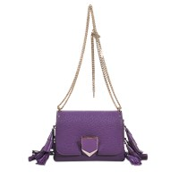 Jimmy Choo Lockett Petite Bag With Tassels