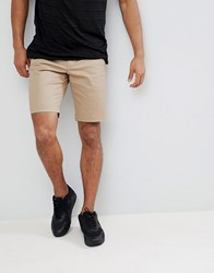Lacoste Chino Shorts In Beige