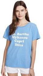 South Parade Islands Tee Sky Blue