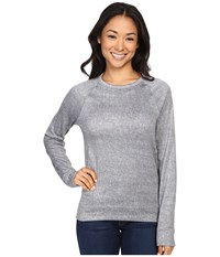 Spyder Blayze Top Image Grey Washed Print Women's Long Sleeve Pullover Gray