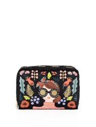 Le Sport Sac Rifle Paper Co. X Lesportsac Extra Large Rectangular Best Buds Cosmetic Case