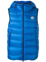Moncler 'Ray' Padded Gilet Blue