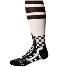Vans Good Times Snow Sock Black White Men's Low Cut Socks Shoes