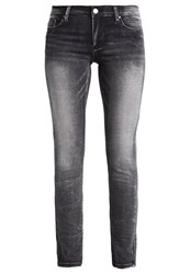 Versace Jeans Slim Fit Jeans Nero Anthracite