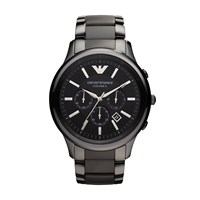 Emporio Armani Ar1451 Ceramic Black Mens Bracelet Watch