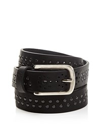 Bruno Cenere Studded Belt Black