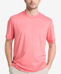 G.H. Bass And Co. Men's Explorer Performance T Shirt Red Heather