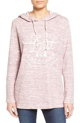 Women's Rhythm 'Lost' Graphic Hoodie Berry