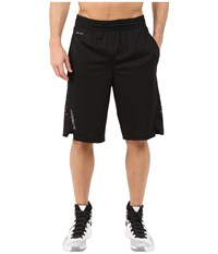 Nike Hyperelite Power Short Black Metallic Silver Men's Shorts