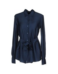 Fred Perry Shirts Shirts Women Slate Blue