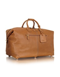 Bric's Life Pelle Hold All Duffle Leather