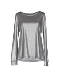 Blue Bay Topwear T Shirts Women Silver
