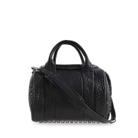 Alexander Wang Rockie Pebble Black Nickel Bag