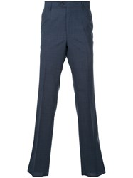 Gieves And Hawkes Classic Tailored Trousers Blue