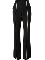 Jean Louis Scherrer Vintage Flared Trousers Black